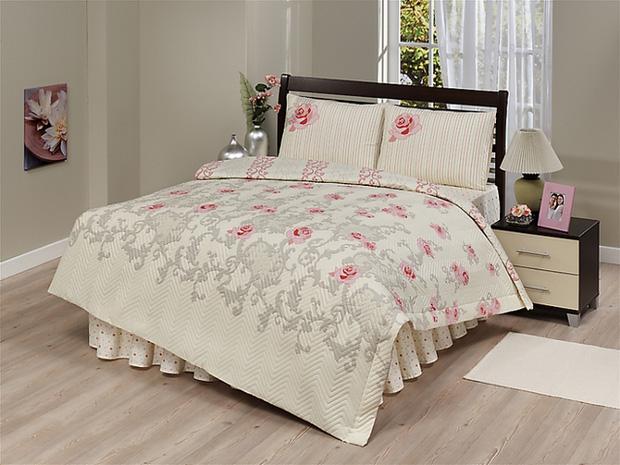 zdilek 4 tlg set bett berwurf tagesdecke steppdecke baumwolle 180x230 neu ebay. Black Bedroom Furniture Sets. Home Design Ideas