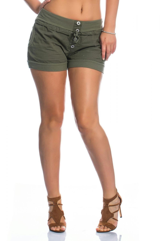 damen hot pants sommer kurze hose shorts boyfriend baggy. Black Bedroom Furniture Sets. Home Design Ideas