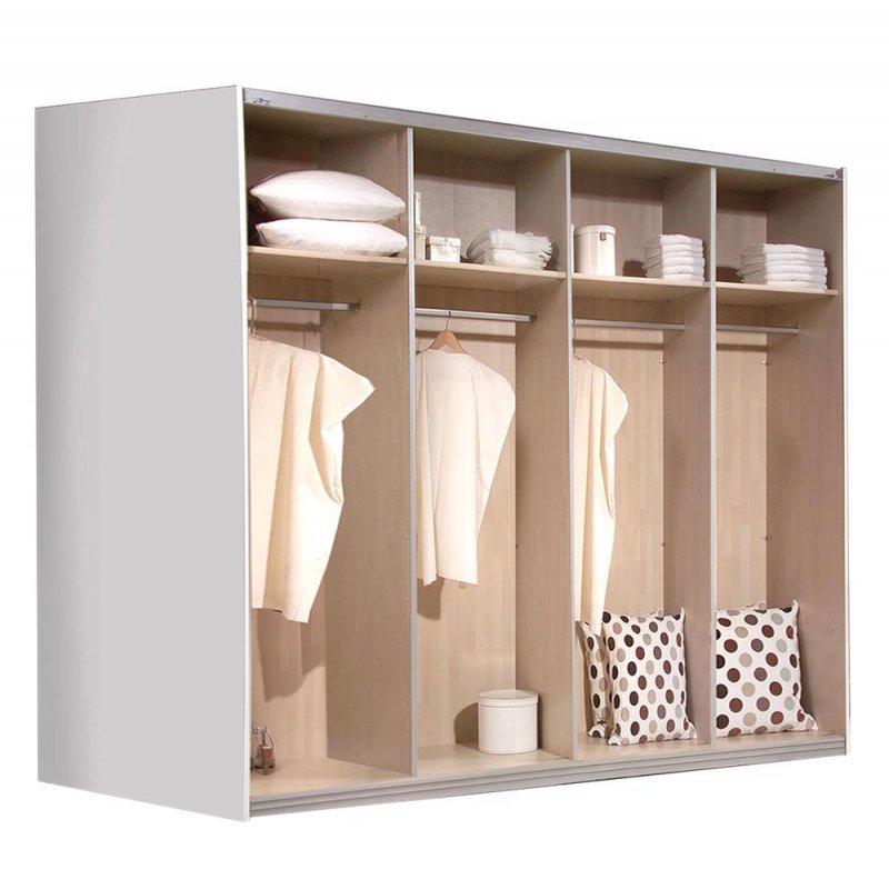 schwebet renschrank schiebet renschrank weiss ca 300cm kleiderschrank ebay. Black Bedroom Furniture Sets. Home Design Ideas