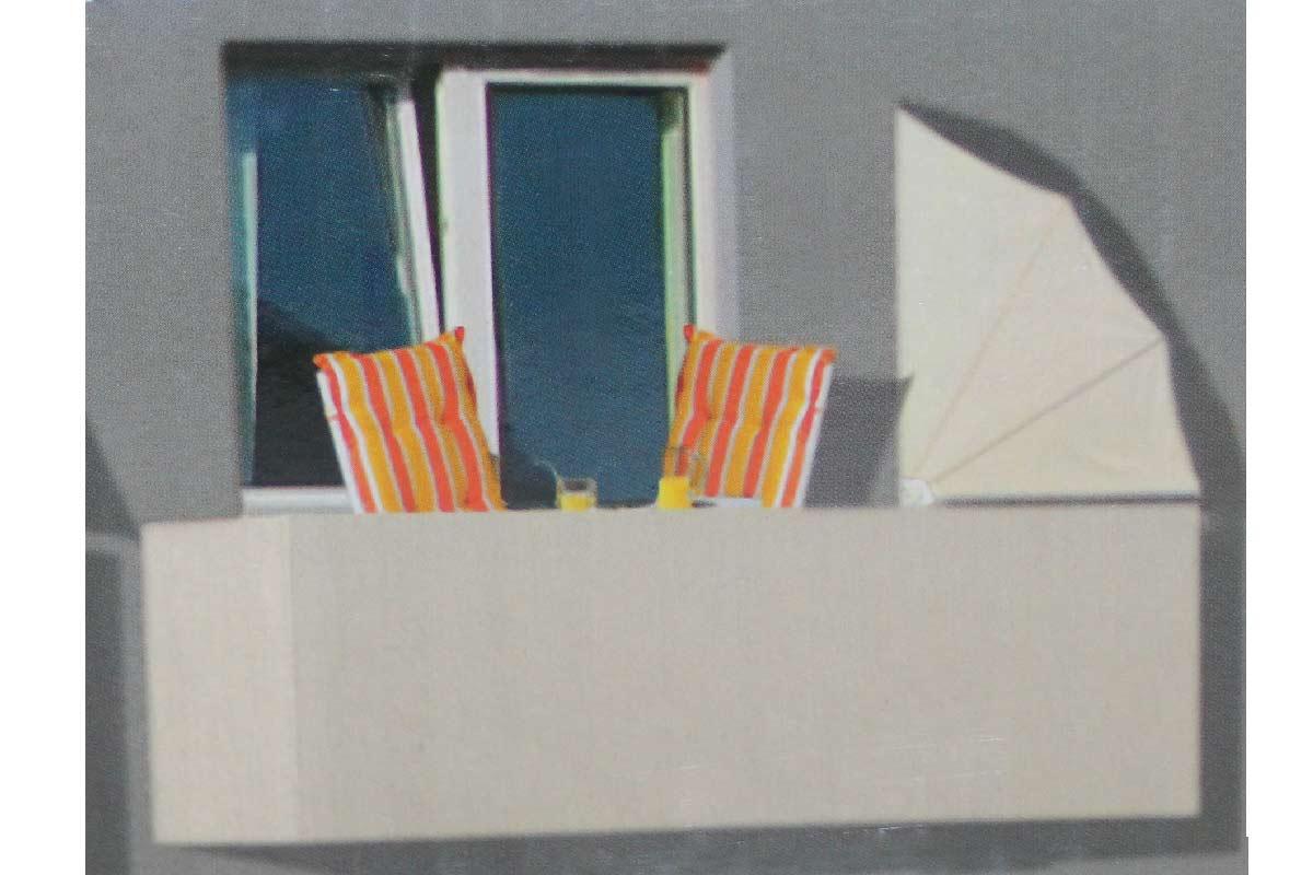 Balkon Sichtschutzflächer Balkonsichtschutz Balkonfächer Flächer