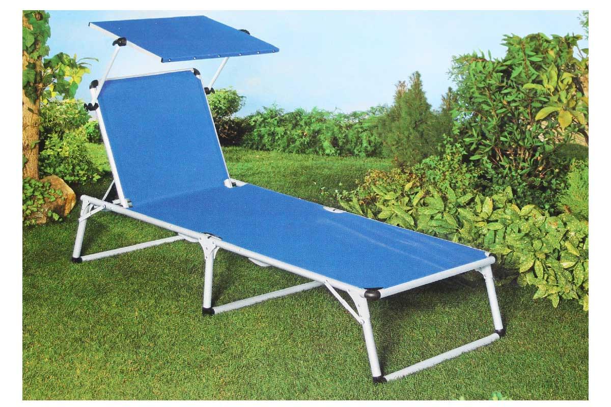 sonnenliege mit dach liegestuhl gartenliege klappbar neu ebay. Black Bedroom Furniture Sets. Home Design Ideas