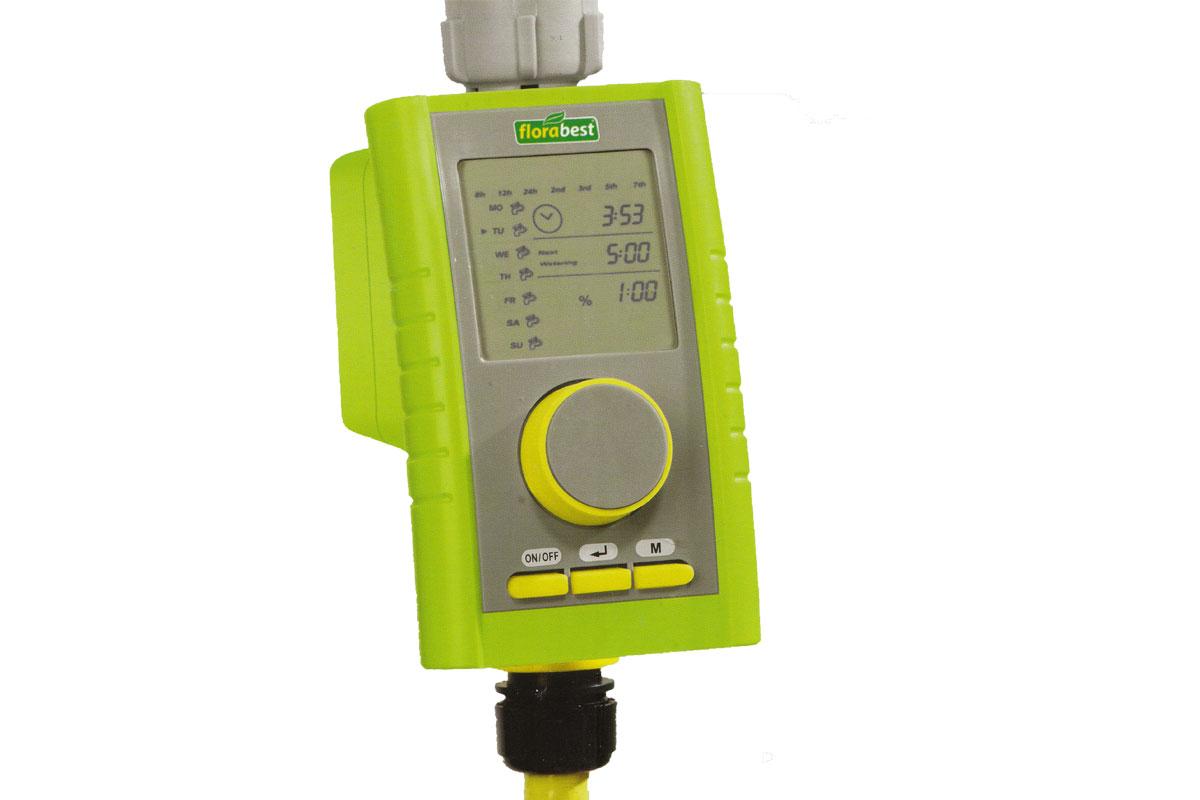 Bew sserungscomputer florabest fbc 7 a1 automati for Irrigatore automatico