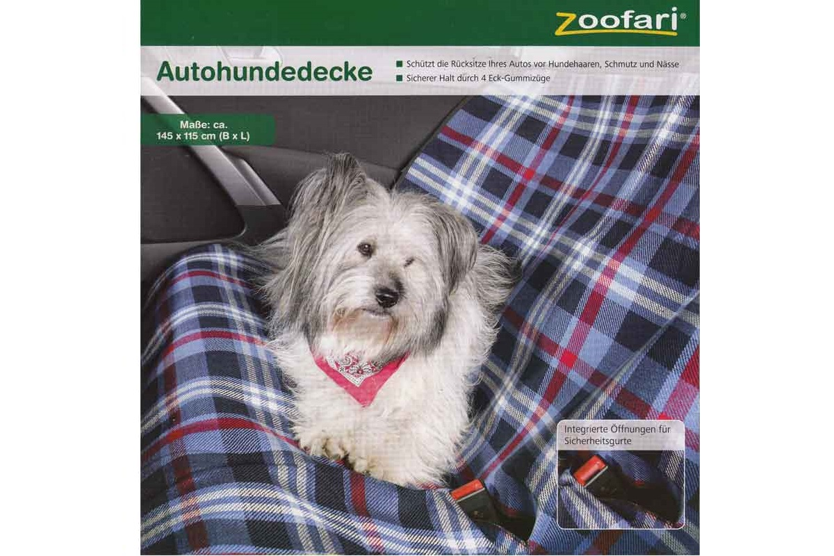 zoofari autohundedecke auto hundedecke hundeschutzdecke kofferraumdecke neu ebay. Black Bedroom Furniture Sets. Home Design Ideas
