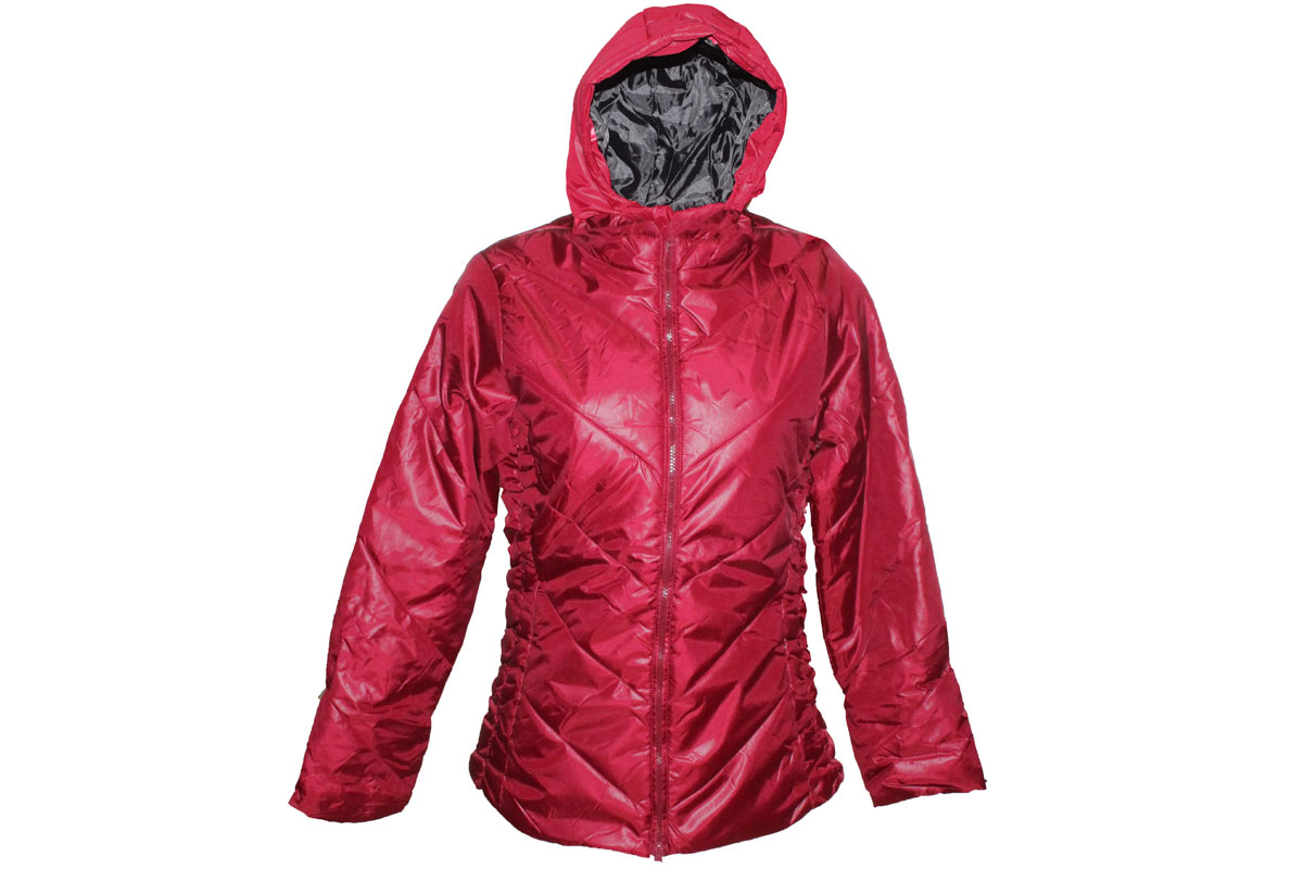 damen crivit skijacke winterjacke in rot gr 36 40 44 ebay. Black Bedroom Furniture Sets. Home Design Ideas