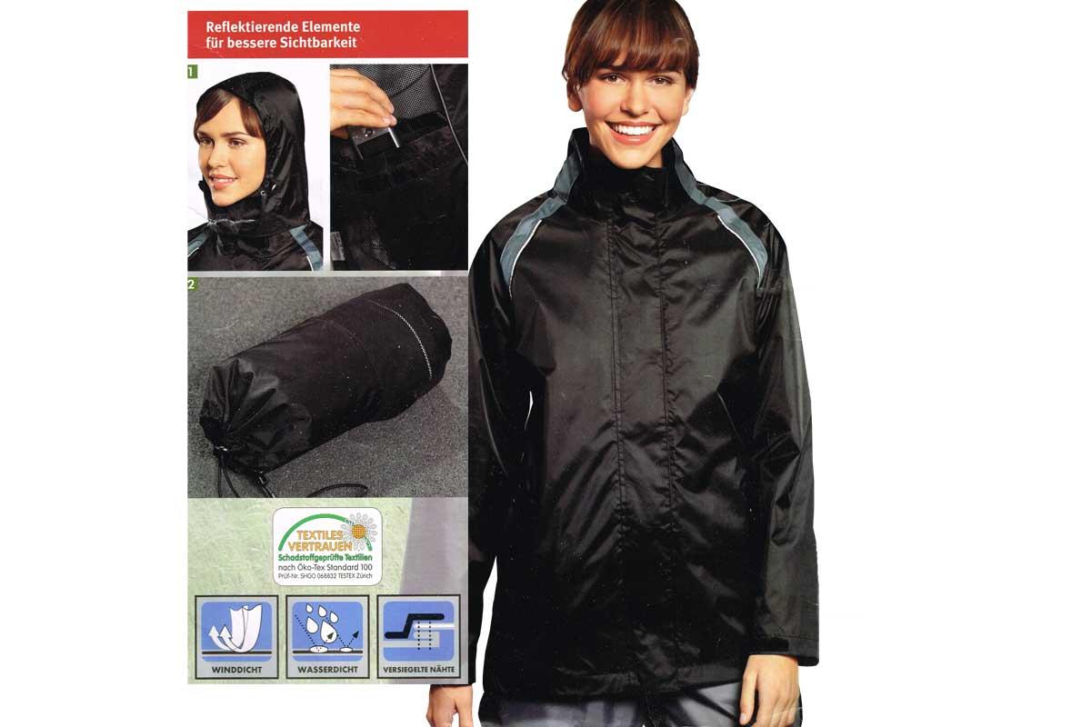 result regenanzug jacke und hose absolut wasserdicht l. Black Bedroom Furniture Sets. Home Design Ideas