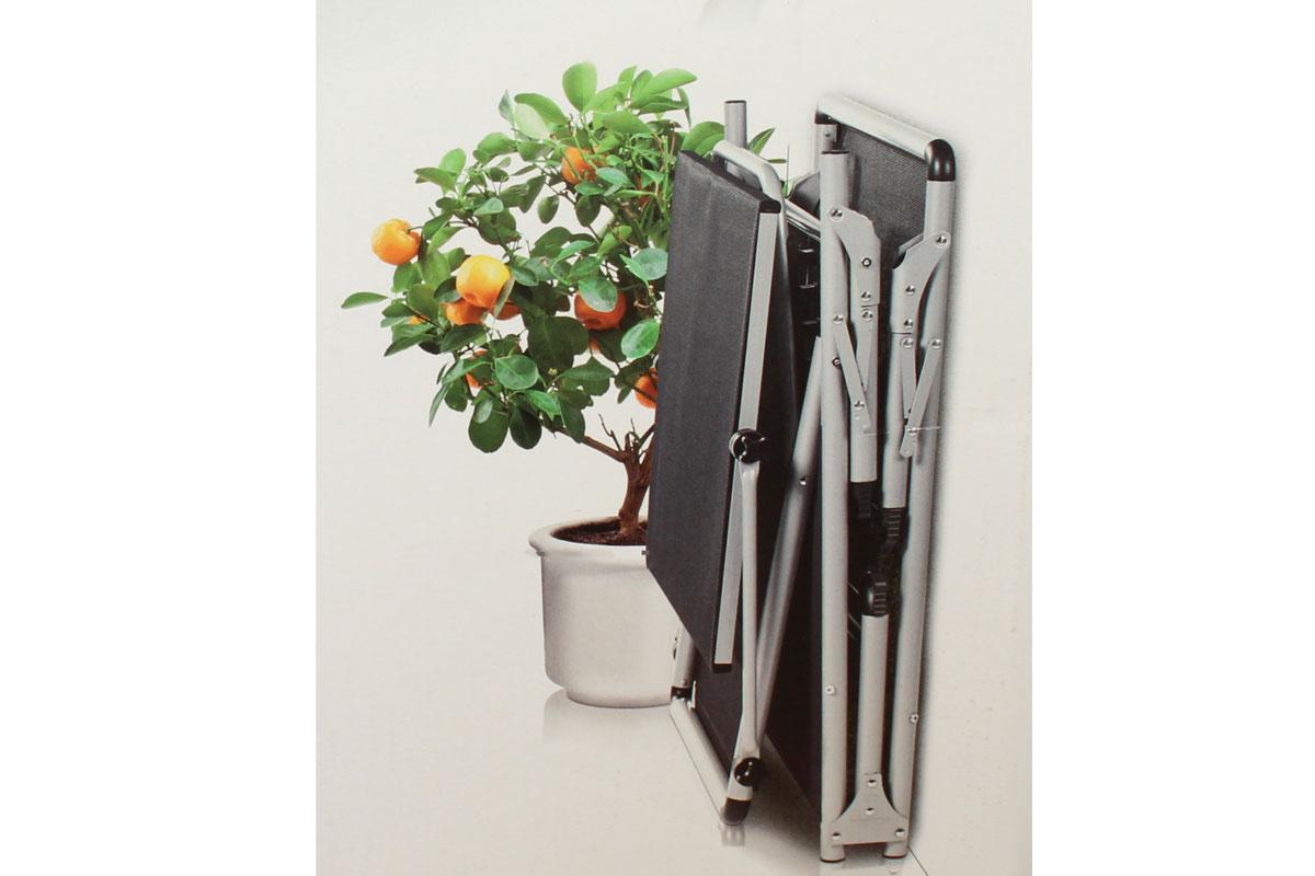 aluminium sonnenliege gartenliege strandliege mit dach bis. Black Bedroom Furniture Sets. Home Design Ideas