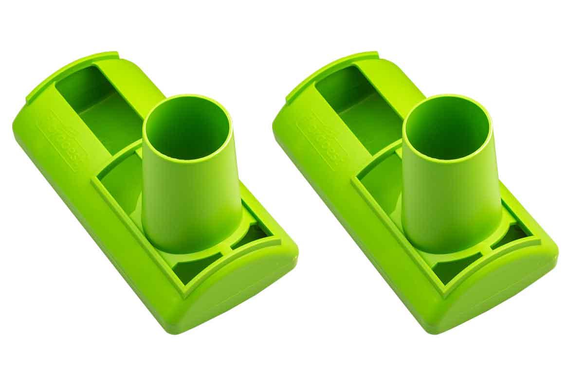 2x dachrinnen siphon gegen verstopfte fallrohre dachrinnen laubfang schutz ebay. Black Bedroom Furniture Sets. Home Design Ideas