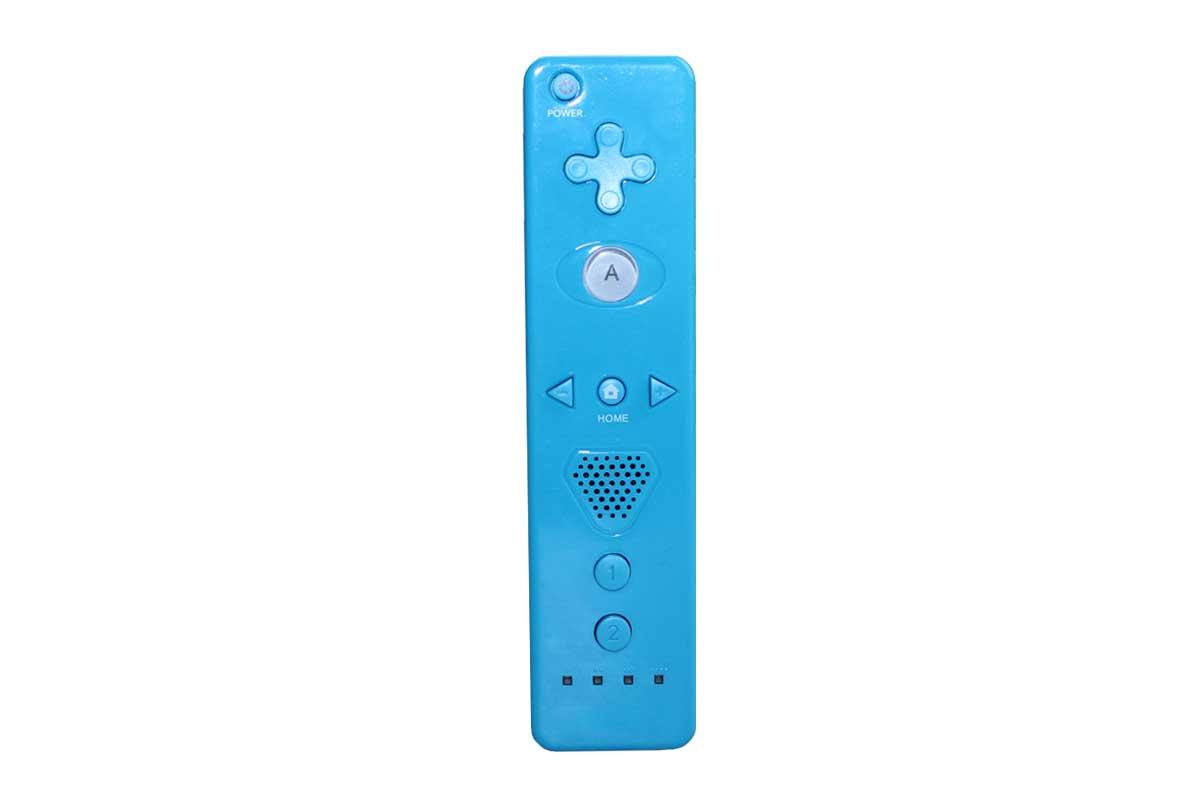 Motion Plus Remote Controller Kontroller für Nintendo Wii Blau STANDORT BERLIN