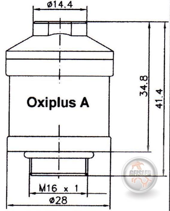 sauerstoffsonde o2 sensor o2 zelle f r abgastester. Black Bedroom Furniture Sets. Home Design Ideas