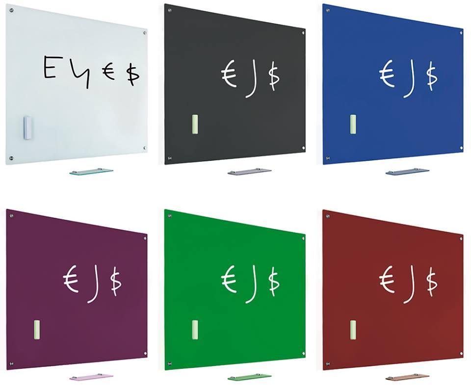 glastafel blau magnettafel magnet board wandtafel. Black Bedroom Furniture Sets. Home Design Ideas