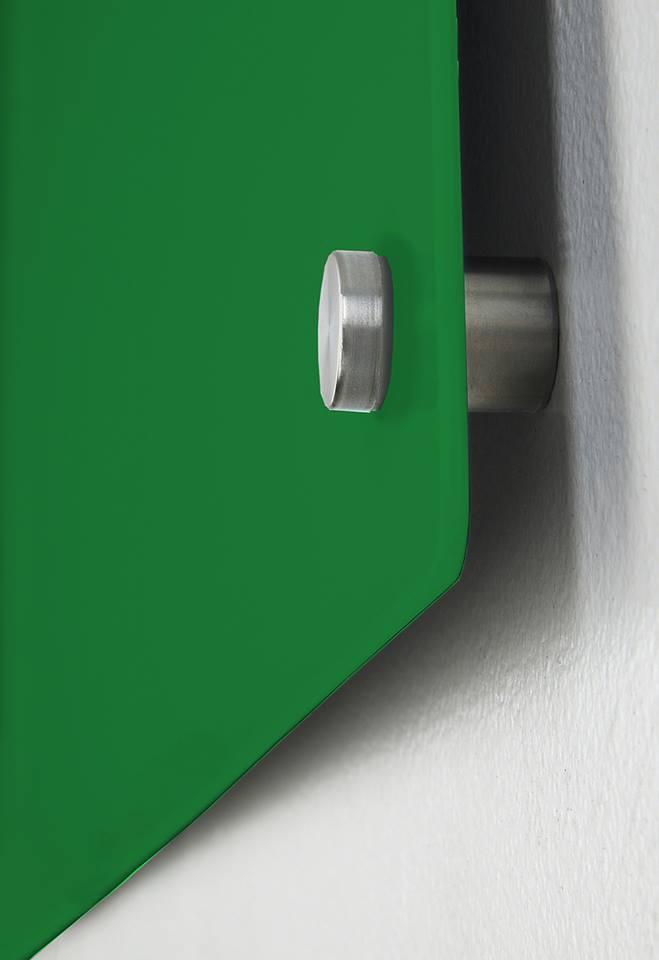 glastafel gr n magnettafel magnet board wandtafel whiteboard glas vos jost ebay. Black Bedroom Furniture Sets. Home Design Ideas