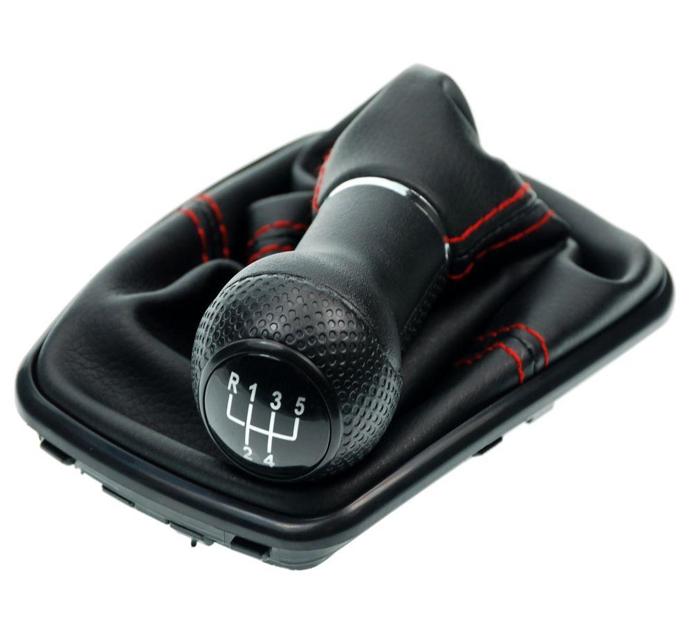 schaltsack schaltmanschette rot schaltknauf vw golf 4 bora. Black Bedroom Furniture Sets. Home Design Ideas