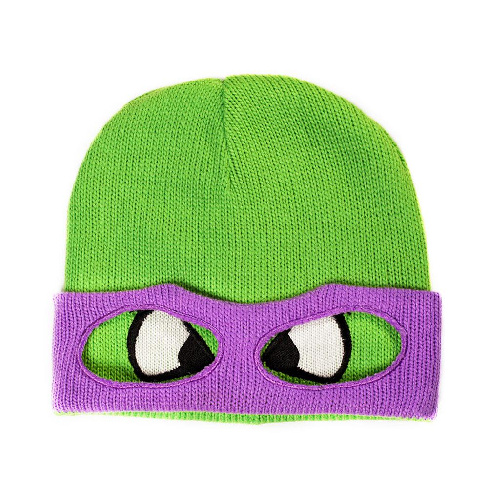 Teenage-Mutant-Ninja-Turtles-Beanie-Muetze-Raphael-Donatello-Leo-Michelangelo-NEU