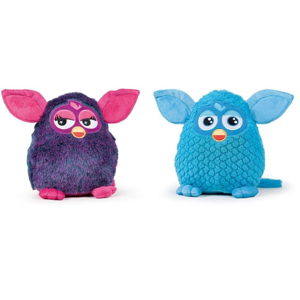 riesen furby pl schfigur 50cm pl sch kuscheltier stofftier neu ebay. Black Bedroom Furniture Sets. Home Design Ideas