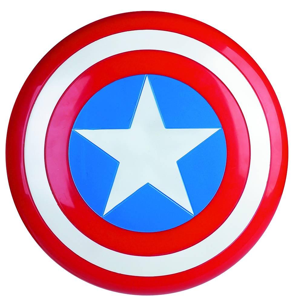 the avengers captain america schild replik f r erwachsene 60cm kunststoff ebay. Black Bedroom Furniture Sets. Home Design Ideas