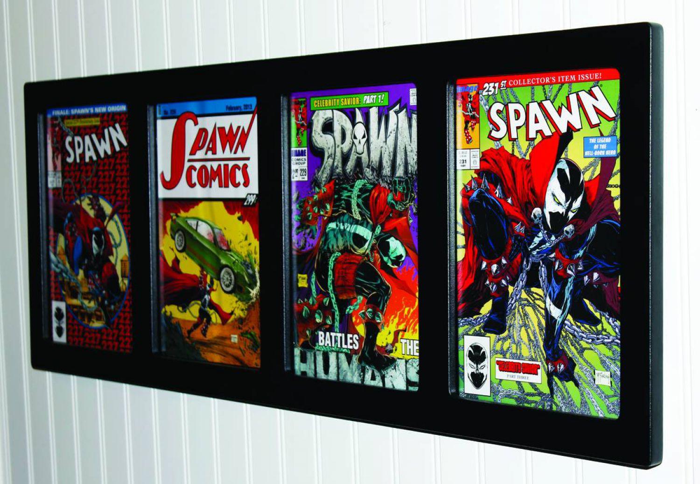 Bilderrahmen für Comics: Inline 4 Comic Pod Museum Edition Display ...