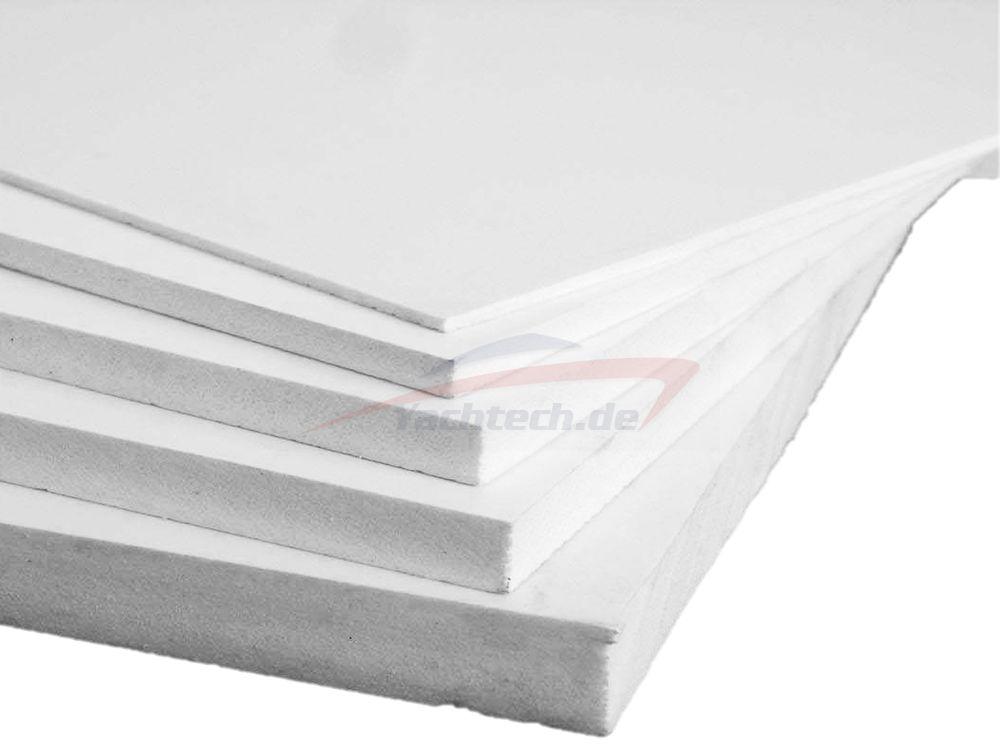 Sehr PVC Hartschaumplatten Weiß 1000 x 500 x 8 mm Kunststoffplatten  OJ12