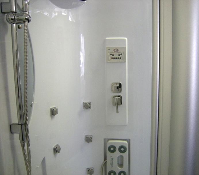 badewanne und duschkabine in einem ebay. Black Bedroom Furniture Sets. Home Design Ideas