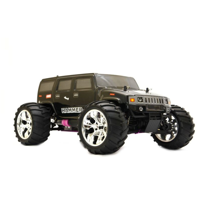 rc verbrenner hummer max 70 km h hammer ferngesteuertes. Black Bedroom Furniture Sets. Home Design Ideas