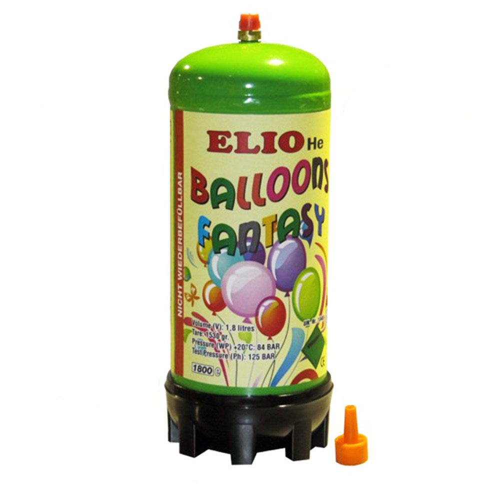 heliumgas f r luftballons ballongas heliumflasche 1 8 liter gef llt ebay. Black Bedroom Furniture Sets. Home Design Ideas