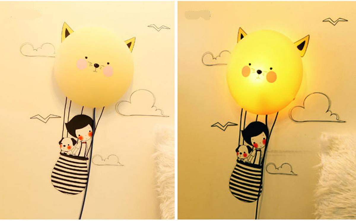 Kinderzimmer wanddekoration  Kinderlampe Wanddekoration Kinderzimmer mit Wandtattoo - Sonne | eBay