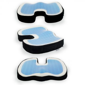 gel sitzkissen stei bein stuhlkissen orthop disches kissen. Black Bedroom Furniture Sets. Home Design Ideas