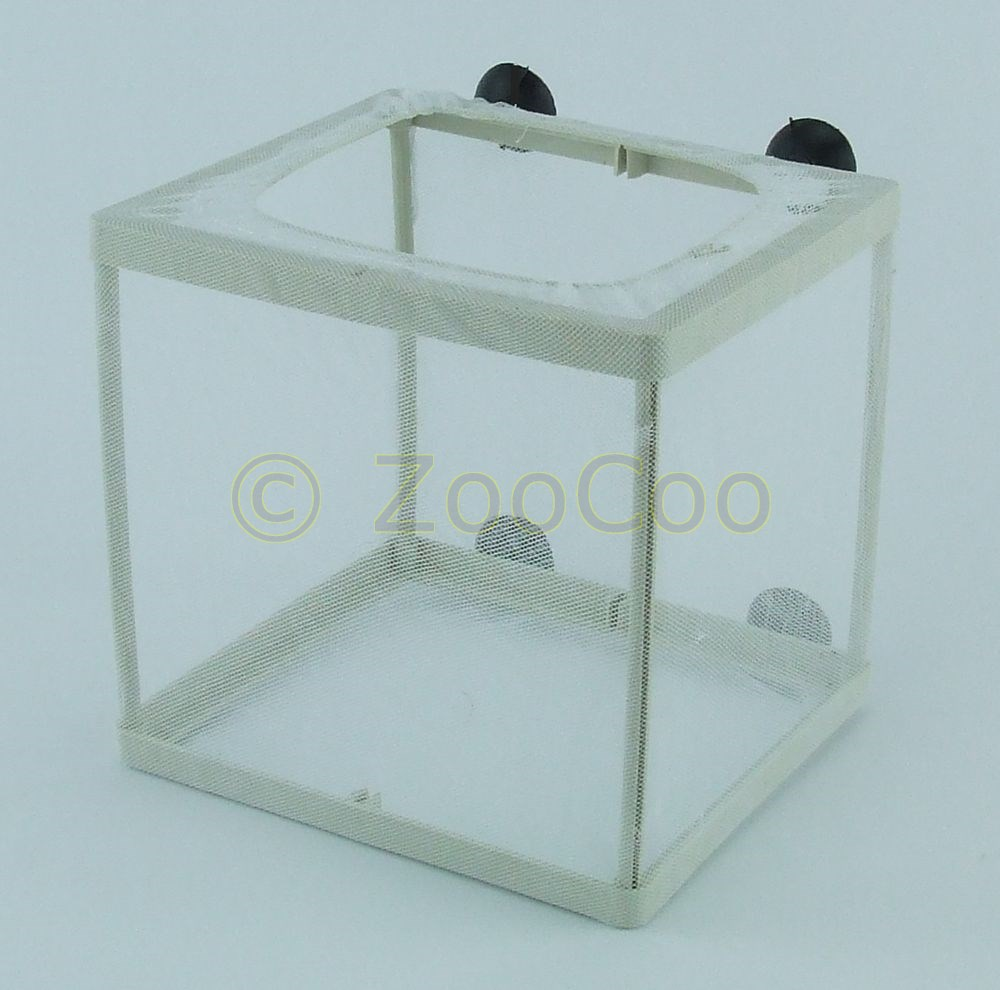 Aquarium-Netz-Ablaichkasten-S-L-Aufzuchtskasten-Netzablaichkasten-Aufzuchtbecken