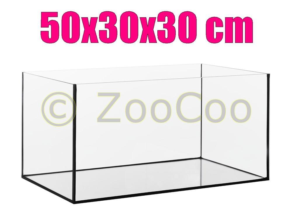 50x30x30-cm-50-30-Aquarium-Becken-Glasbecken-45-L-Glasaquarium-Glas-Terrarium