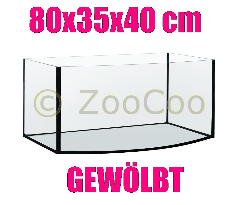 80x35x40-GEWOLBT-Aquarium-Becken-Glasbecken-105-Glasaquarium-Glas-Terrarium-80