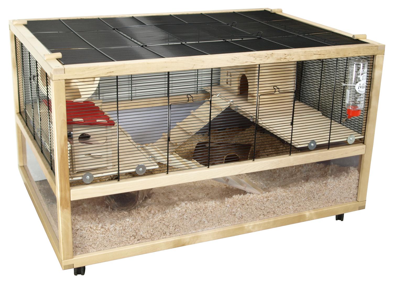 m use und hamsterk fig san marino 100 deluxe inkl kompletter ausstattung ebay. Black Bedroom Furniture Sets. Home Design Ideas
