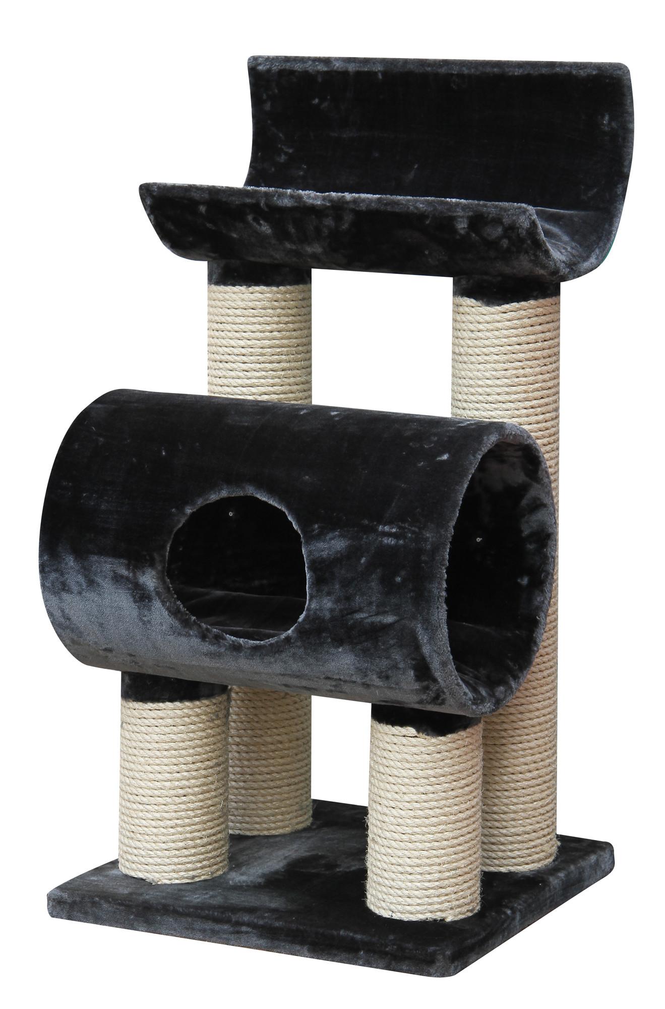 kratzbaum maine coon tivoli xl extra f r gro e und schwere katzen farbe grau ebay. Black Bedroom Furniture Sets. Home Design Ideas