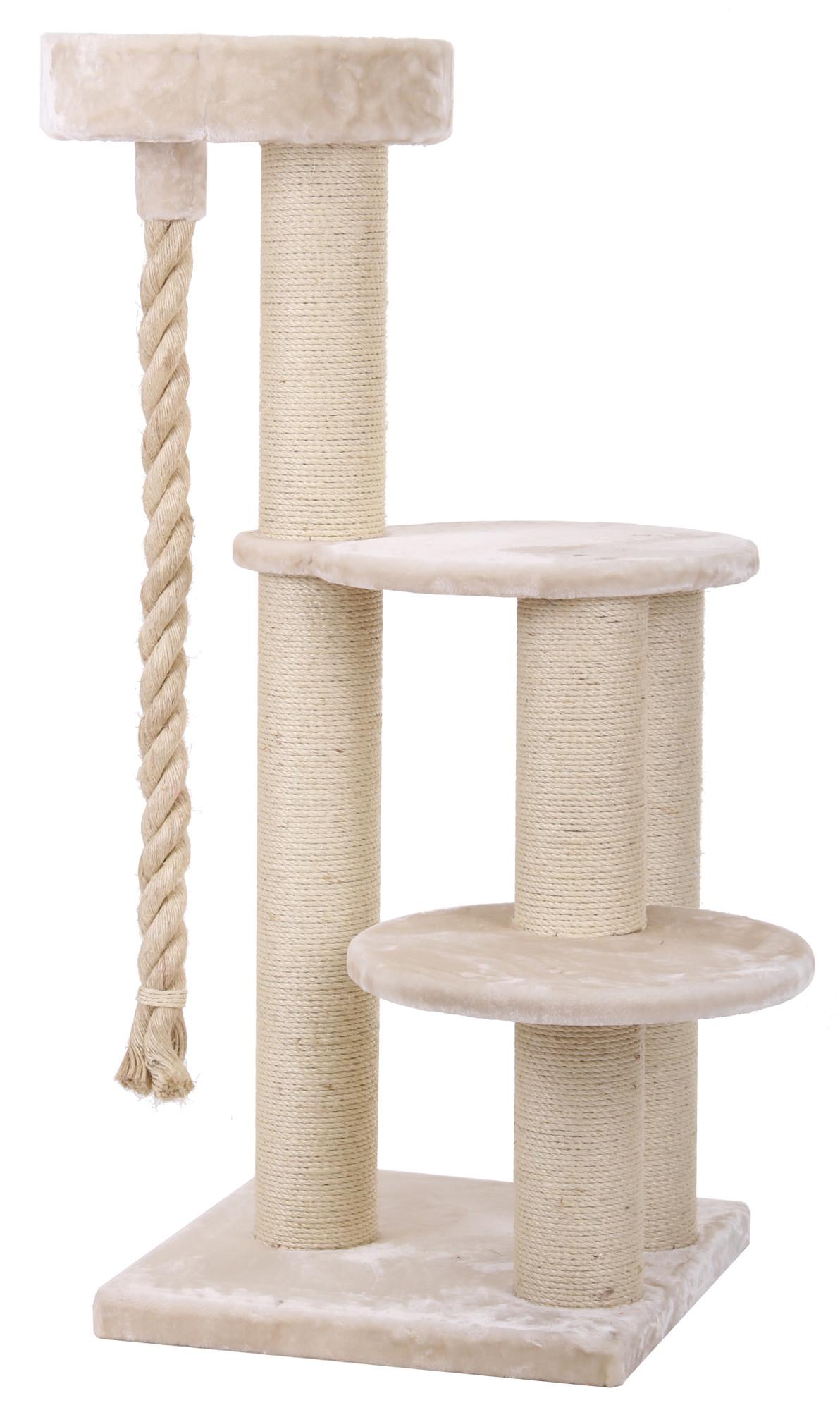 xxl kratzbaum maine coon 4 beige speziell f r gro e und. Black Bedroom Furniture Sets. Home Design Ideas