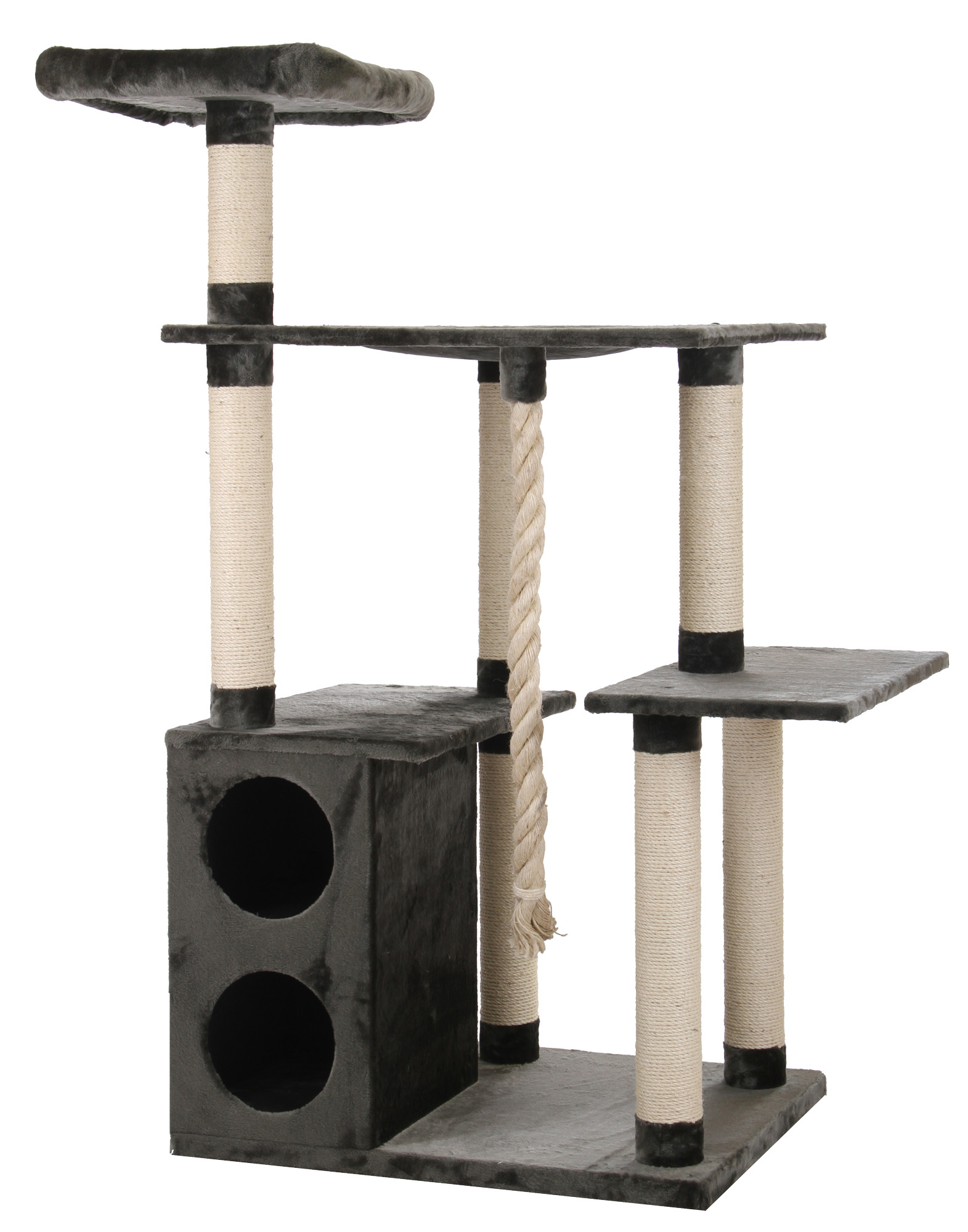 kratzbaum maine coon 1 grau speziell f r gro e katzen entwickelt sch ne qualit t ebay. Black Bedroom Furniture Sets. Home Design Ideas