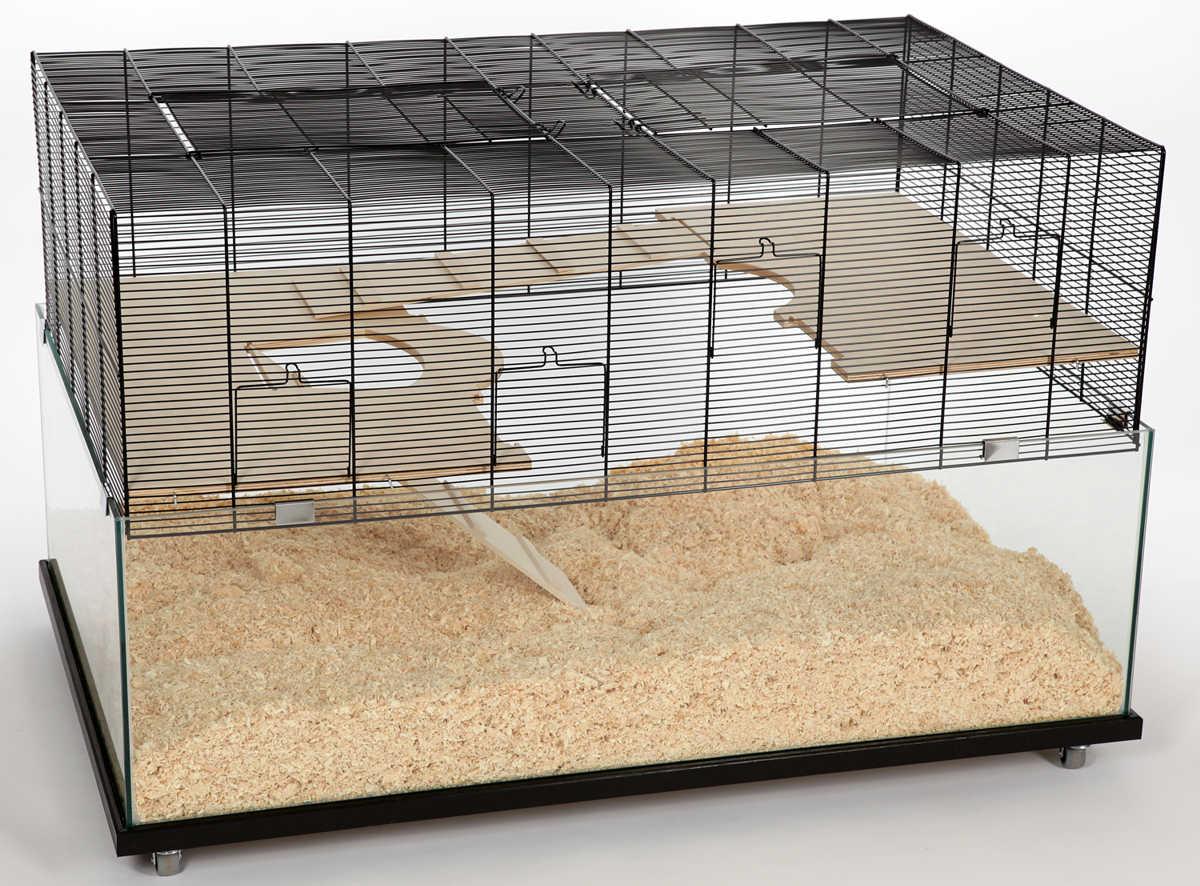 m use und hamsterk fig nagarium colorado inkl rollwagen mit 4 rollen ebay. Black Bedroom Furniture Sets. Home Design Ideas