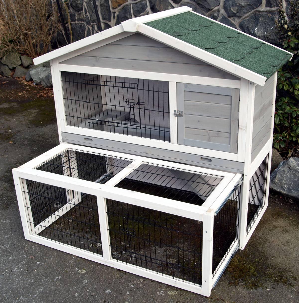 kleintierstall hasenstall kaninchenstall phoenix mit. Black Bedroom Furniture Sets. Home Design Ideas