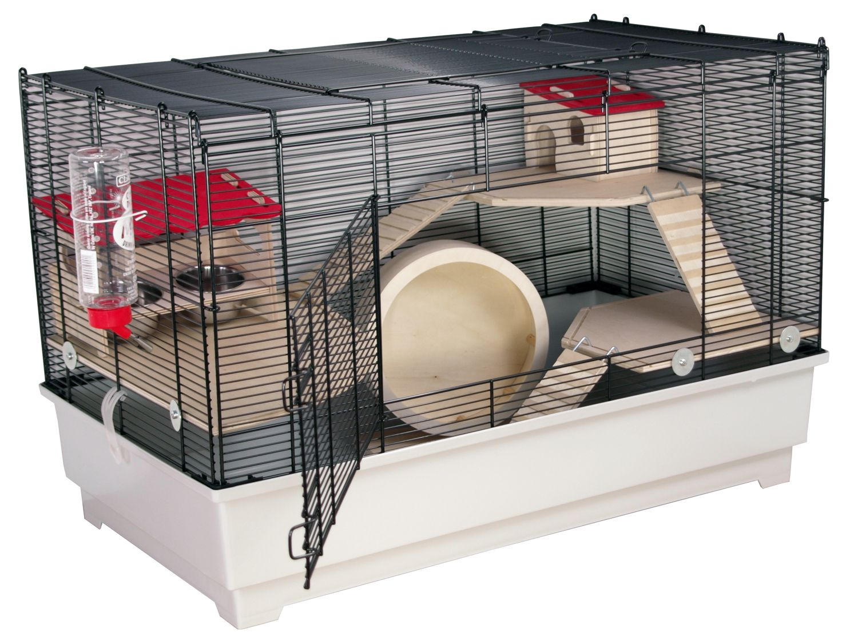 m usek fig hamsterk fig nagerk fig borneo m deluxe inkl kompl ausstattung ebay. Black Bedroom Furniture Sets. Home Design Ideas