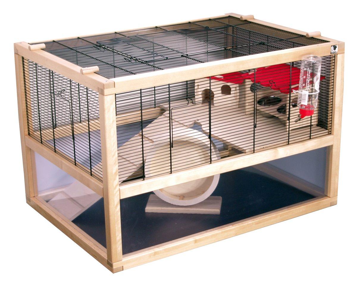 m usek fig hamsterk fig san marino 80 deluxe mit kompletter ausstattung ebay. Black Bedroom Furniture Sets. Home Design Ideas