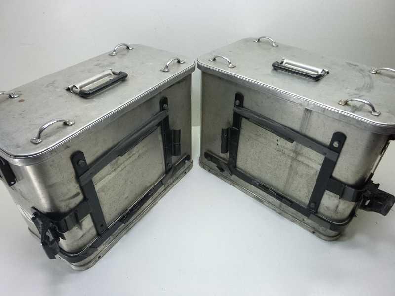 alu koffer motorradkoffer seitenkoffer g tz box links rechts ebay. Black Bedroom Furniture Sets. Home Design Ideas